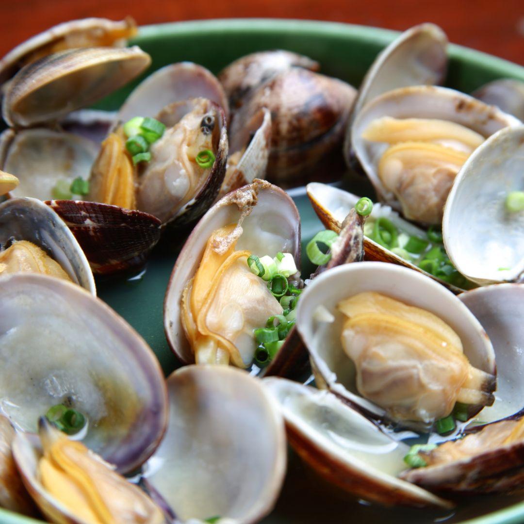 almejas paella mixta con marisco