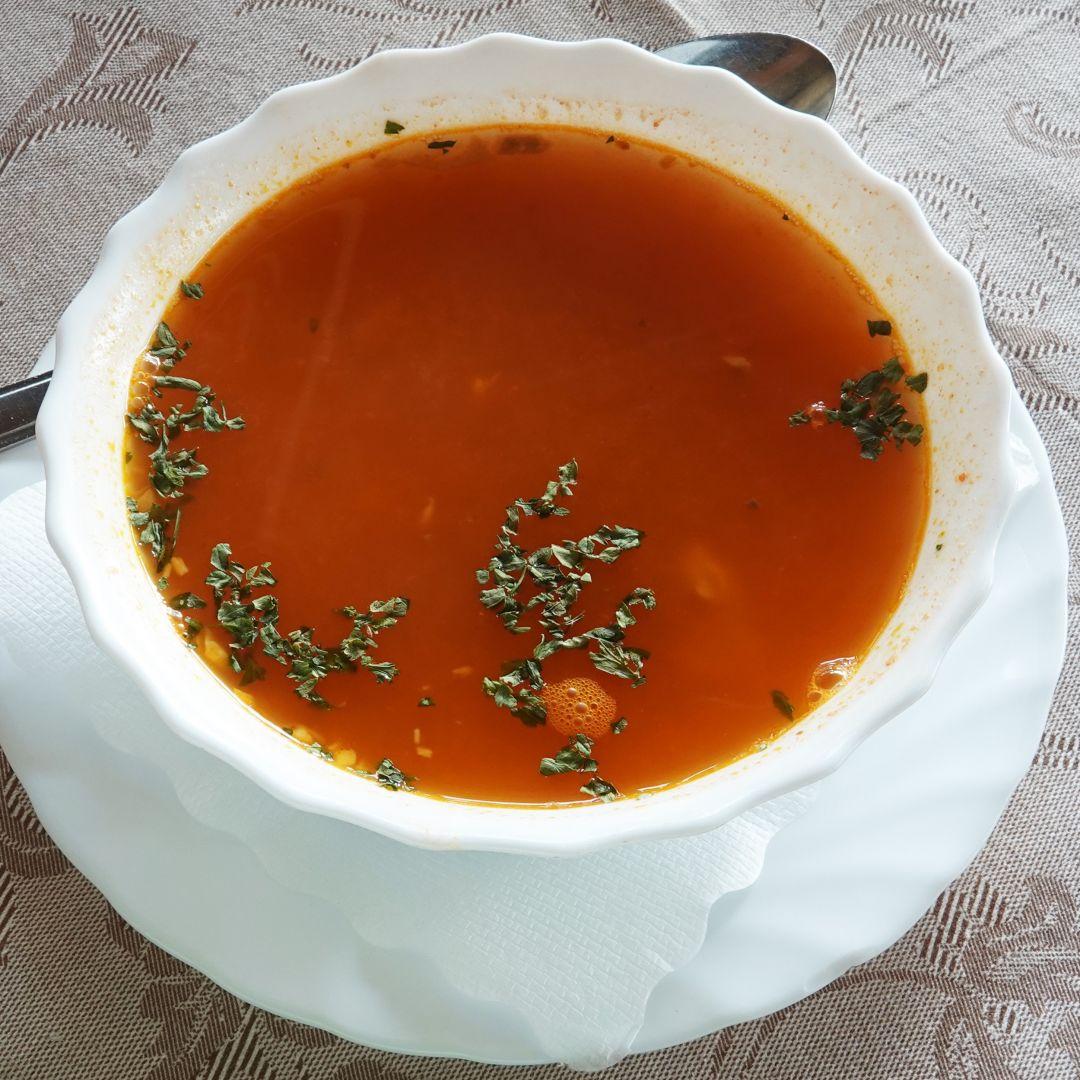 caldo pescado receta cabracho arroz almejas azafran