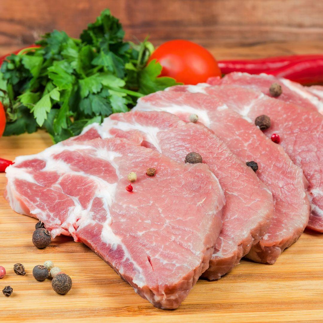 costilla de cerdo arroz al horno