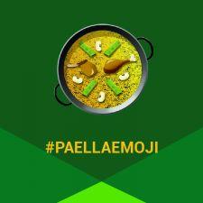 perfil con paella emoji