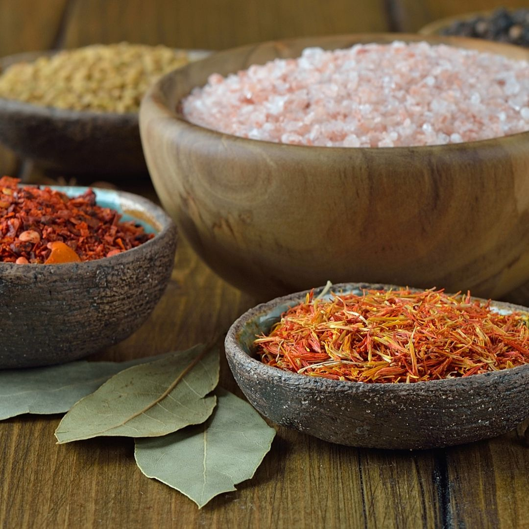 especias receta paella-valenciana azafran