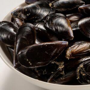 mejillones paella de marisco