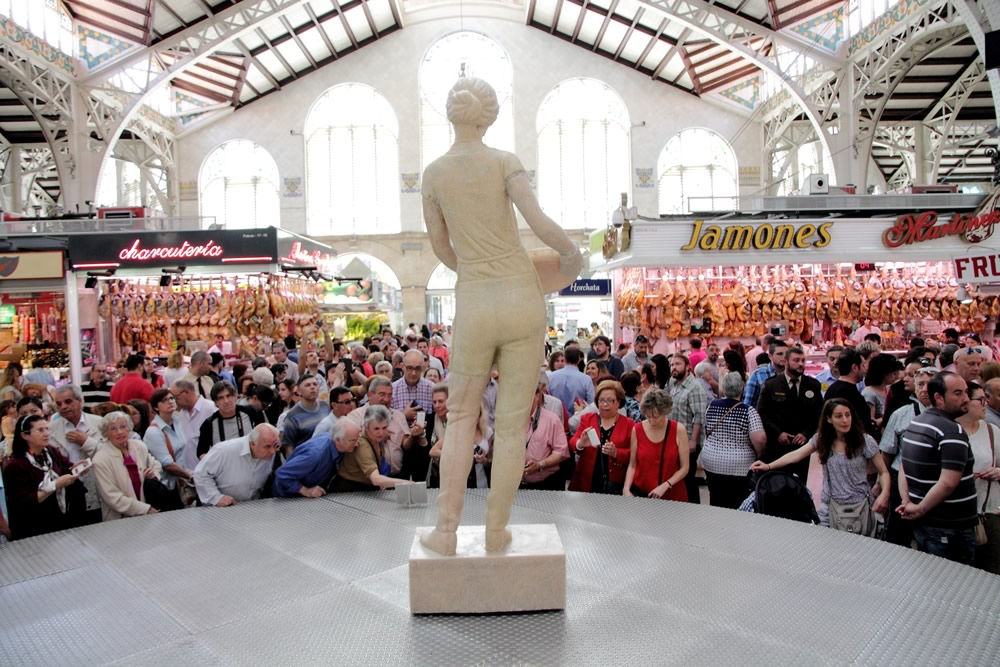 Monumento a las madres. Mercat Central