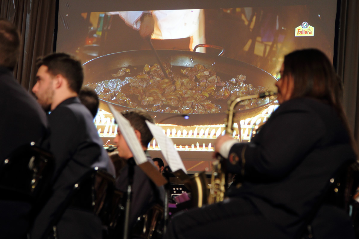 """""""Paella a música"""", un concierto único. Arroz La Fallera"""