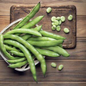 judia guisante Arroz de magro y verduras