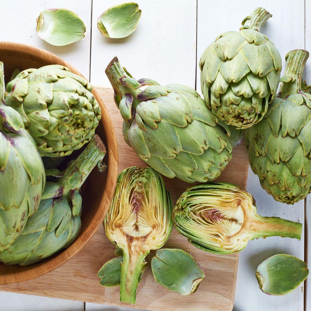 alcachofa receta Arroz de magro y verduras