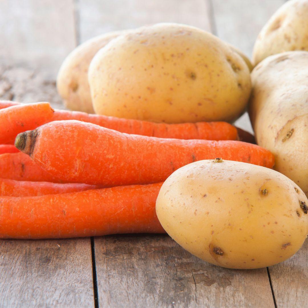 verdura zanahoria patata caldo putxero
