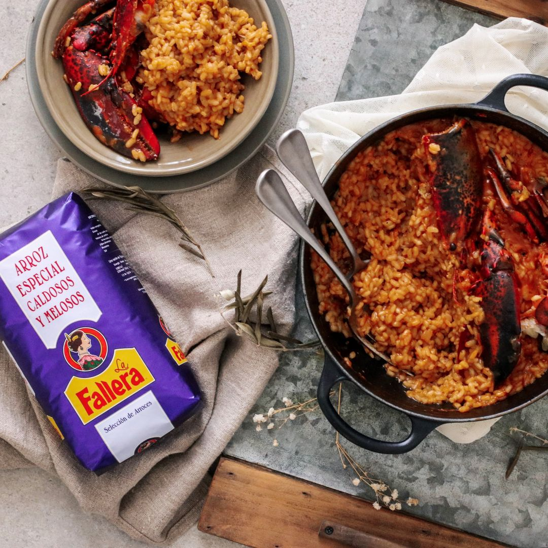 Arroz con bogavante by Delicious Martha