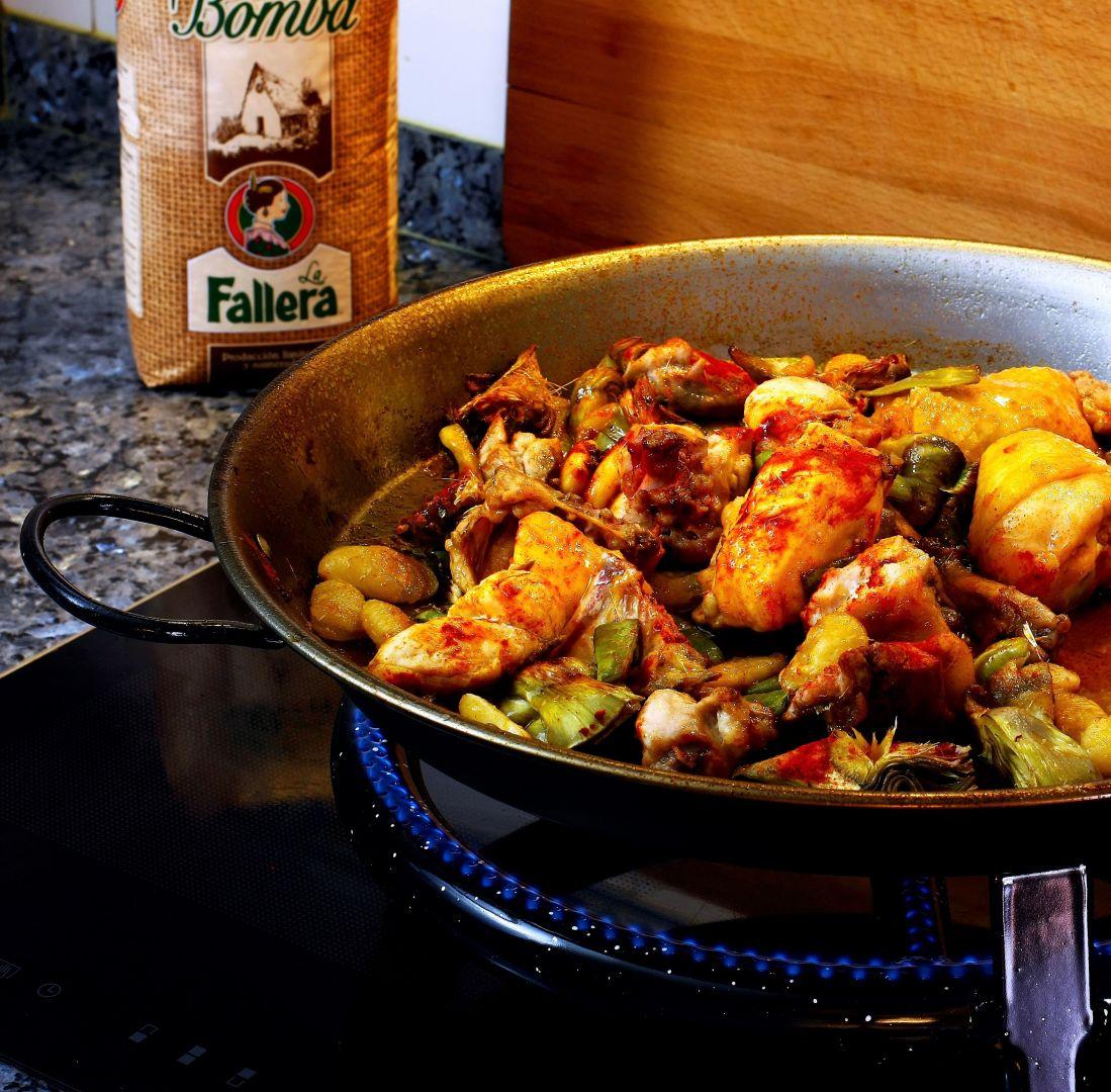 pollo-pimenton-paella-ingredientes-arroz