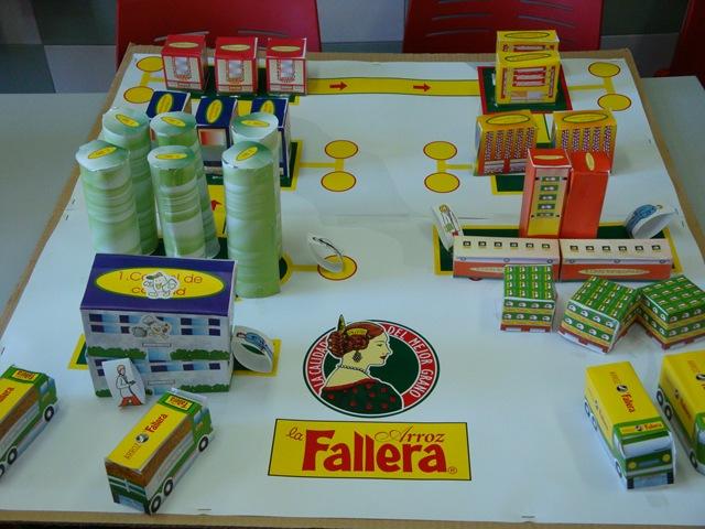 Los escolares valencianos visitan la fábrica de arroz La Fallera