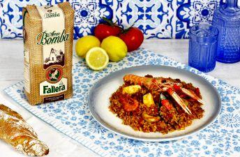 Paella de marisco de Rechupete