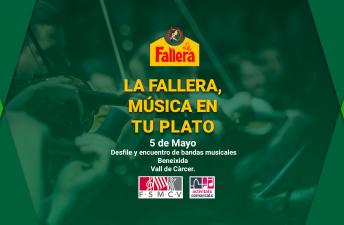 Desfile y encuentro de bandas musicales en Beneixida de Vall de Càrcer