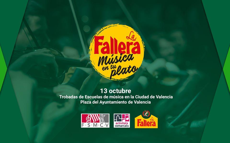La Fallera y la Federación de Sociedades Musicales llenan Valencia de arroz y música