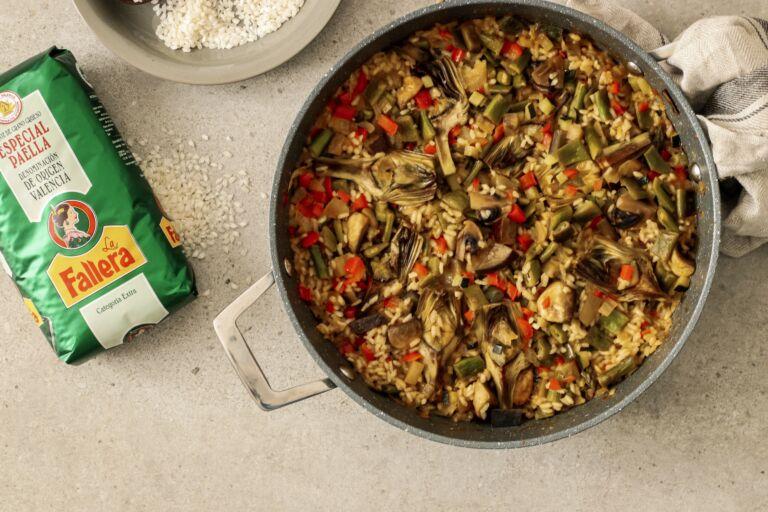 Arroz con verduras by Delicious Martha