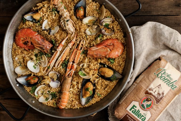 Paella de marisco by Delicious Martha