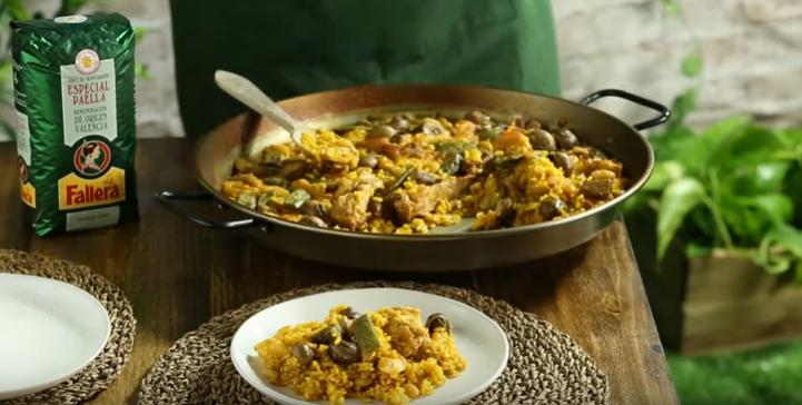 La Fallera recopila seis recetas de auténticas paellas de la Comunidad Valenciana