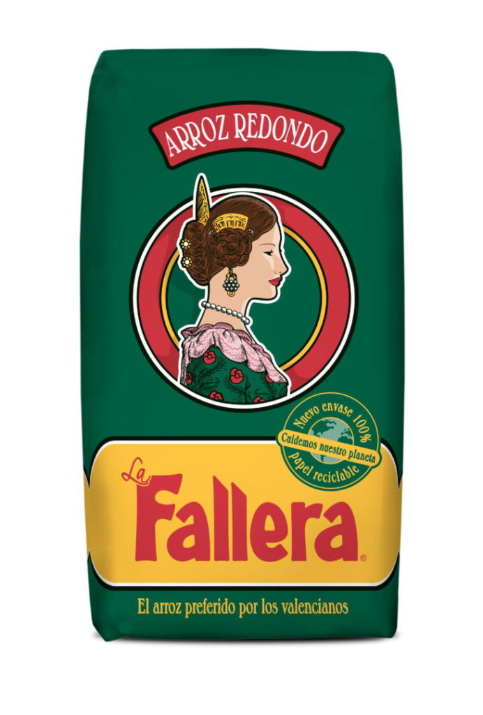 Envase Arroz la fallera 100% reciclable