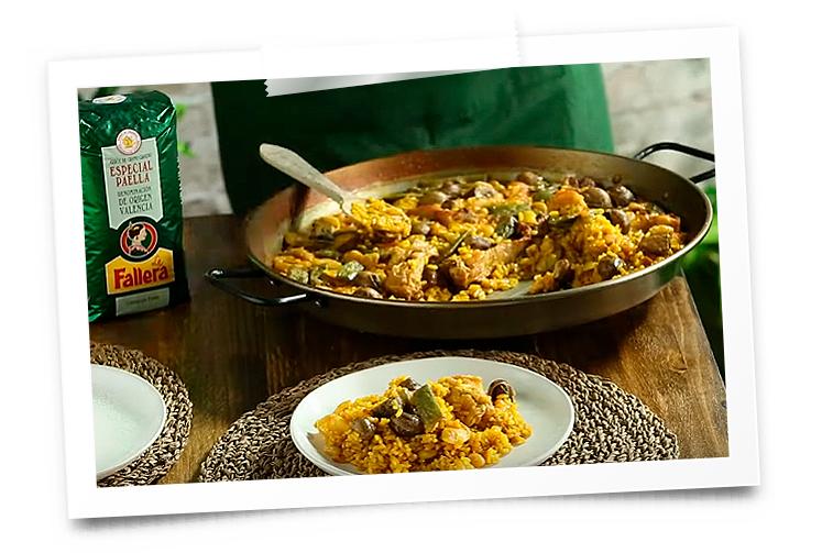 mejores recetas de paella valenciana