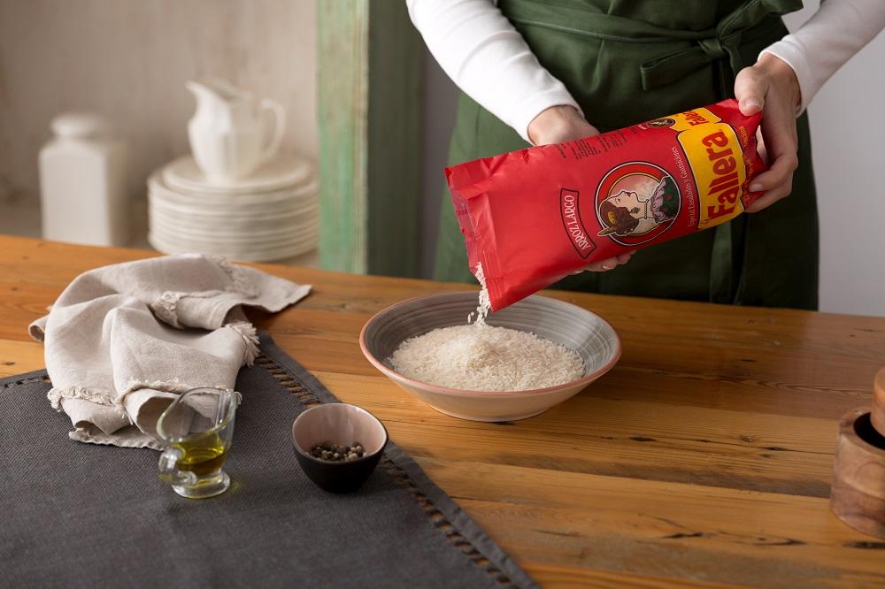 Cocemos el arroz La Fallera Largo