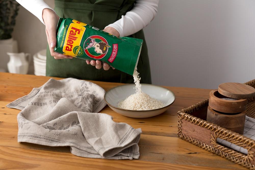 Cocemos el arroz La Fallera Redondo