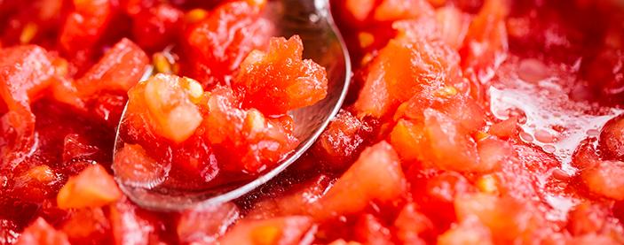 Trituramos el tomate
